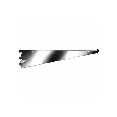 """10"""" Shelf Bracket W/ Nylon Stabilizer - Chrome - Pkg Qty 25"""