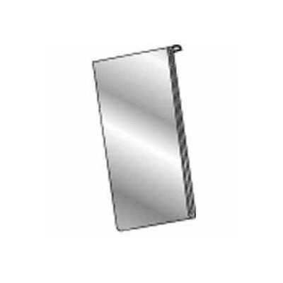 "5-1/2""W X 7""H Acrylic Vertical For Slatwall/Gridwall - Clear - Pkg Qty 24"