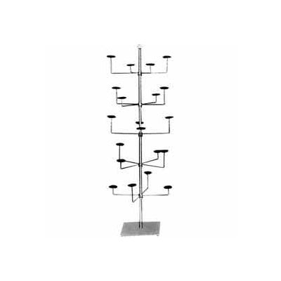 Revolving Millinery Tree - Chrome