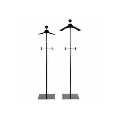 Men's Floor Standing Costumer w/ Hanger - Matte Black