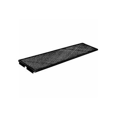 "43""L Perforated Metal Shelf For Mirage Mini-Ladder System - Matte Black - Pkg Qty 2"