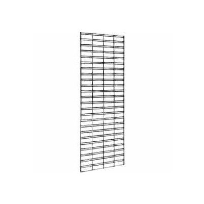 2'W X 6'H - Slatgrid Panel Chrome - Pkg Qty 3