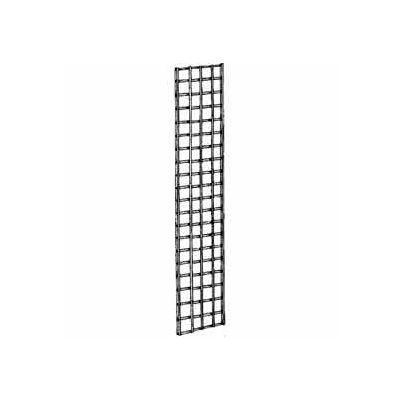 1'W X 5'H - Wire Grid Wall Panel - Semi-Gloss White - Pkg Qty 3