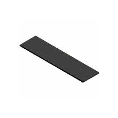 "12"" X 48"" Melamine Shelf - Black - Pkg Qty 4"