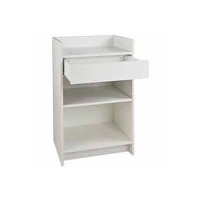 """20""""D x 24""""W x 38""""H Register Stand - White"""