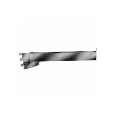 """12"""" Rectangular Tubing Straight Arm For Mounted/Recessed Standard - Chrome - Pkg Qty 24"""