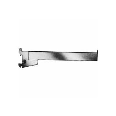 "12"" Rectangular Tubing Straight Arm - Satin Chrome - Pkg Qty 24"