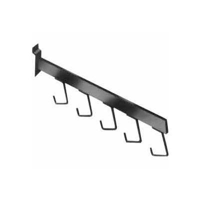 5 Hook Waterfall - Satin Chrome - Pkg Qty 24
