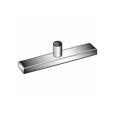 """Patented Magnetized Clamp W/ 1/4"""" And 3/8"""" Fitting - Chrome - Pkg Qty 100"""