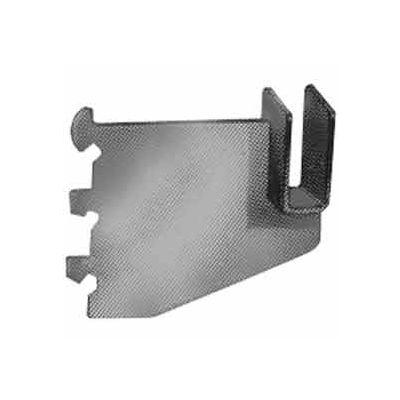 "3"" Heavy Duty Blade Bracket For 1/2"" X 1-1/2"" Rectangular Tubing - Chrome - Pkg Qty 25"