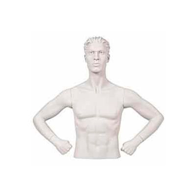 Male Arms - Hands on Hips - White
