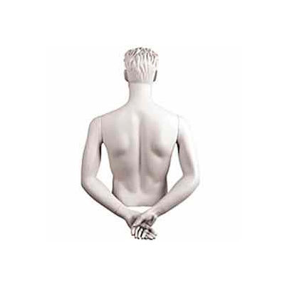 Male Arms - Hands Behind Back - White