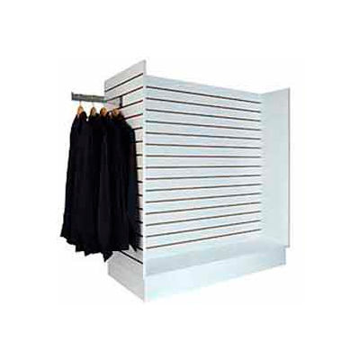 "Gondola Slatwall Merchandiser 49-1/4""W x 24""D x 54""H - White"