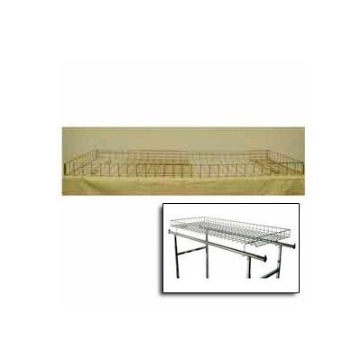 Grid Basket Racktopper - chrome only