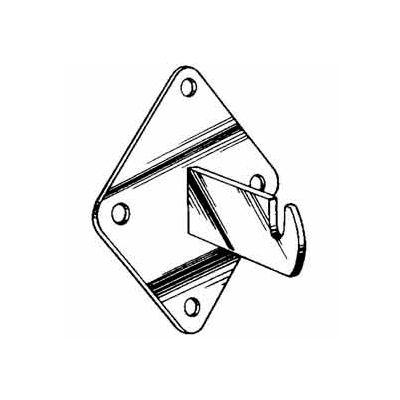 Wall Bracket - Semi-Gloss White - Pkg Qty 96
