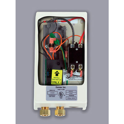 Eemax EX55 Electric Tankless Water Heater, Flo-Controlled Point Of Use - 5.5KW 240V 23A