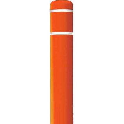 "Post Guard® Bollard Cover 3507O, 10-7/8""Dia. X 60""H, Orange W/No Tape"
