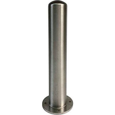 """Post Guard® Stainless Steel Bollard, 36""""H x 6"""" Dia., BDB-SS 6-36 (304)"""