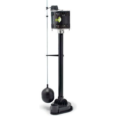 Eco-Flo EPP50 Pedestal Sump Pump, 1/2 HP, 5000 GPH