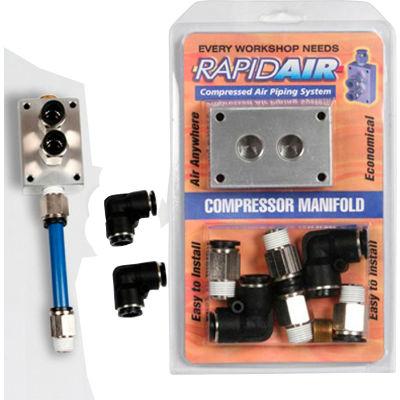 "Rapidair 90200, 1/2"" Manifold Kit"