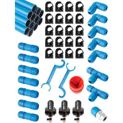 """Fastpipe Rapidair F28070, 3/4"""" Master Kit 90 ft. 3 Outlets"""