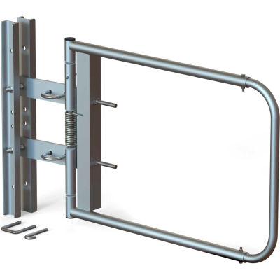 "EGA SCG-X-S Universal Self Closing Swing Gate, Stainless Steel, 40""-48"" Opening"