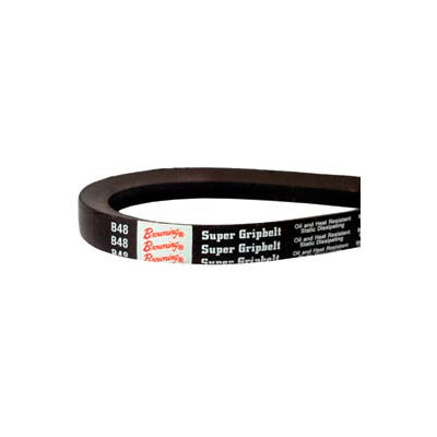 V-Belt, 21/32 X 41 In., B38, Wrapped