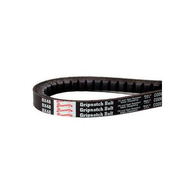 V-Belt, 1/2 X 45.2 In., AX43, Raw Edge Cogged