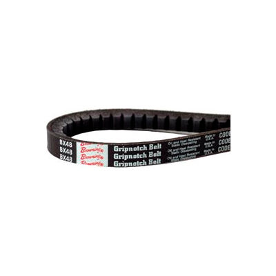 V-Belt, 1/2 X 99.2 In., AX97, Raw Edge Cogged