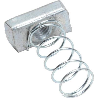 "Strut Nut W/Spring Zinc 3/8"" - Pkg Qty 127"