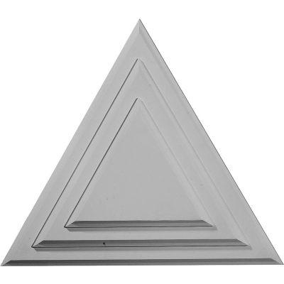 """Ekena Triangle Ceiling Medallion CM19TG, 19-1/4""""W x 19-1/4""""H x 1-1/8""""D"""