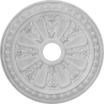 "Ekena Bristol Ceiling Medallion CM23BI, 23-1/2""OD x 3-7/8""ID x 1""D"
