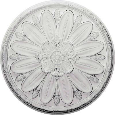 """Ekena Fairfax Ceiling Medallion CM29FA, 29-7/8""""OD x 1-3/8""""D"""