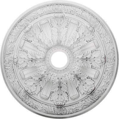 """Ekena Flagstone Ceiling Medallion CM30FL, 30""""OD x 3-7/8""""ID x 3-1/4""""D"""