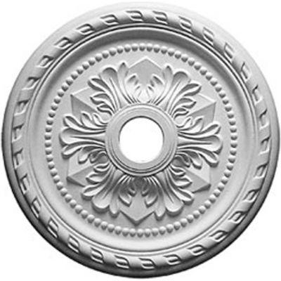"Ekena Palmetto Ceiling Medallion CM31PM, 31-1/2""OD x 3-5/8""ID x 1-3/4""D"