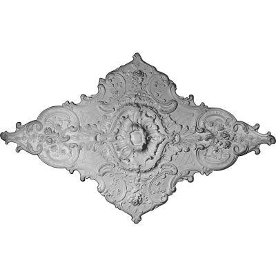 "Ekena Melchor Diamond Ceiling Medallion CM70X43ML, 70-7/8""W x 43-3/4""H"