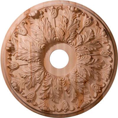 "Ekena Carved Florentine Ceiling Medallion CMW24FLCH, 24""OD x 2-1/4""D"