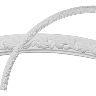 """Ekena Sussex Floral Ceiling Ring CR49SU, 49-1/4""""OD x 45-1/4""""ID x 2""""W x 7/8""""D"""