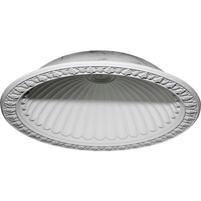 "Ekena Claremont Recessed Mount Ceiling Dome DOME60CL, 60-3/4""OD x 50-1/8""ID x 12-5/8""D x 14"""