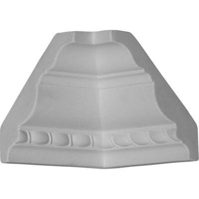 "Ekena Inside Corner For Moulding MLD02X02X04CR MIC02X02CR, 3""D x 3""H"