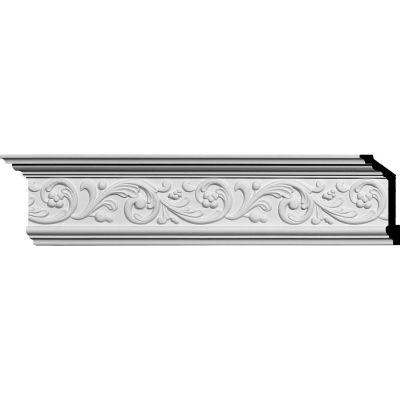 "Ekena Kent Crown Moulding MLD05X02X06KE, 5-7/8""H x 2-1/2""D x 6-3/8""F x 94-5/8""L"