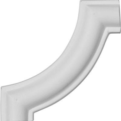 "Ekena Traditional Panel Moulding Corner PML03X03TR, 3-1/8""W x 3-1/8""H"