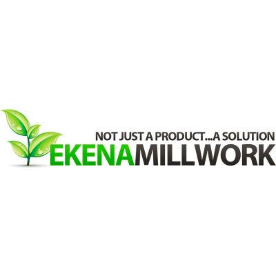 "Ekena Stockport Panel Moulding Corner PML08X08ST-2, 8""W x 8""H x 5/8""D"