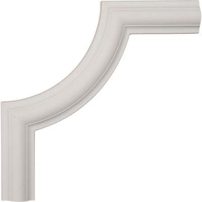 """Ekena Ashford Smooth Panel Moulding Corner PML10X10AS-2, 10""""W x 10""""H x 1/2""""D"""