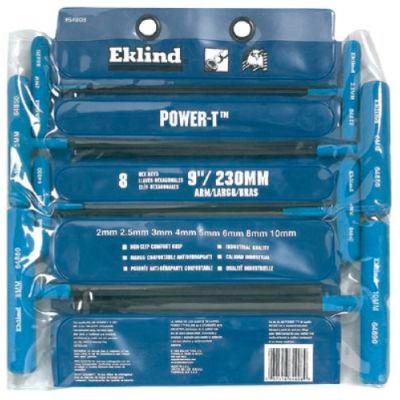Eklind 64808 Power-T™ 2-10MM 8Pc. Cushion Grip Metric Key Set