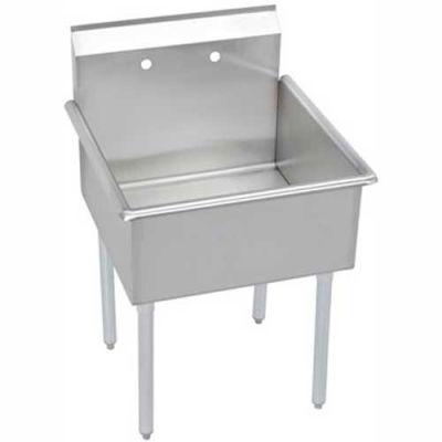 Elkay® B1C18X18X Utility Sink, 1-Compartment w/18L x 18W Bowl, 12 Deep