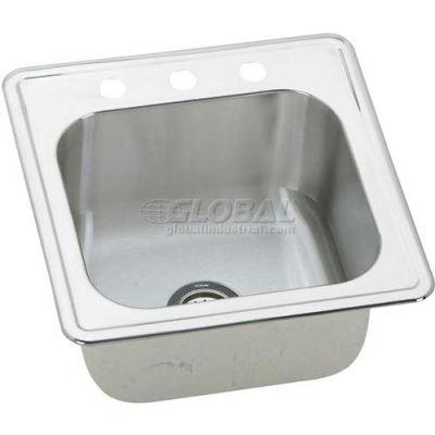 """Elkay® ESE2020101, Gourmet Elite By Elkay® Sink, 20""""L X 20""""W X 10-1/8""""D"""
