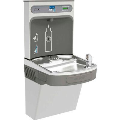 Elkay EZS8WSVRSK EZH2O Water Bottle Refilling Station W/Single ADA EZ Cooler, Refrig, VR Bubbler, SS