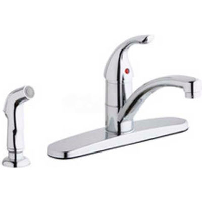 Elkay LK1001CR, Everyday Kitchen Faucet, 2 Hole Drillings