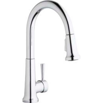 Elkay LK6000CR, Everyday Pull-Out Kitchen Faucet, Chrome, Single Lever Handle